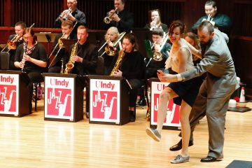 UIndy Jazz Ensemble Big Band Dance