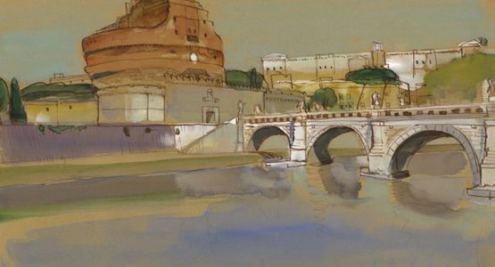 Drawings from Rome: Tom Keesee