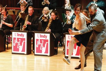 Jazz Week 2020: Big Band Dance with the UIndy Jazz Ensemble