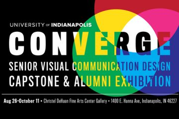UPDATED: Converge – Visual Communication Design Senior Capstone & Alumni Exhibition